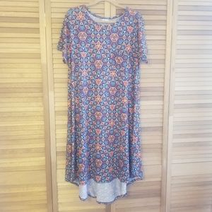 NWOT Lularoe Simply Comfortable Dress XL